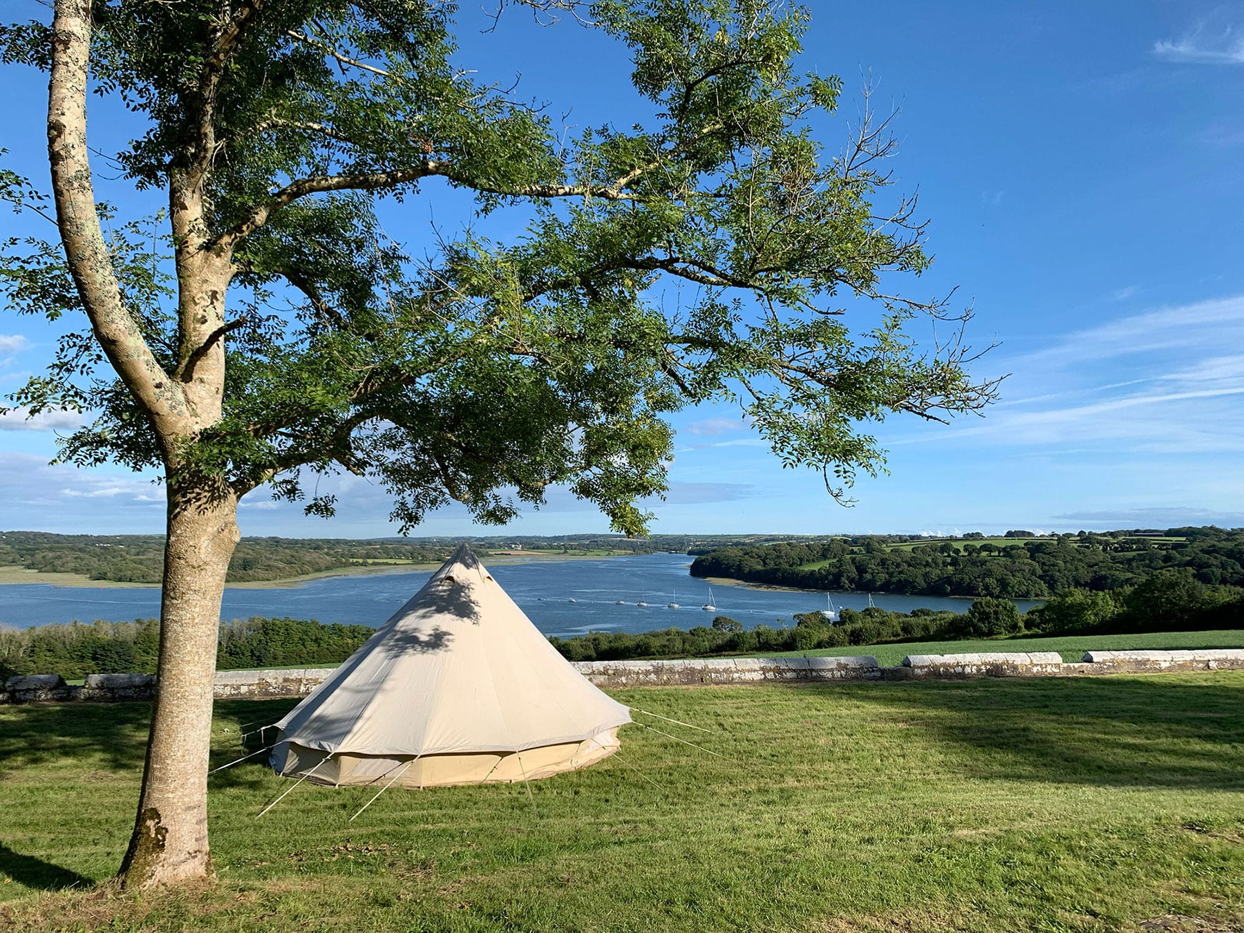 Out and About go Glamping in Wales